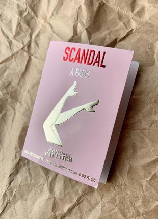 Пробник парфюма jean paul gaultier scandal