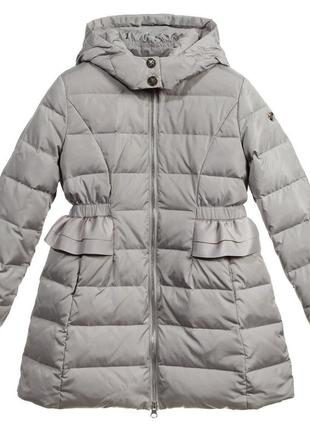 Armani junior водовідштовхуючий пуховик пальто 136(9-10р) 142(10-11р) зима євро-зима