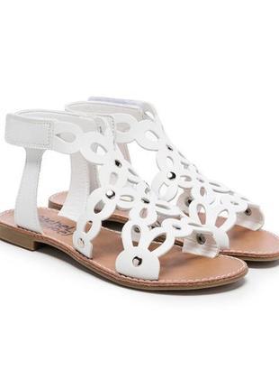 Белые босоножки rachel shoes р. 34