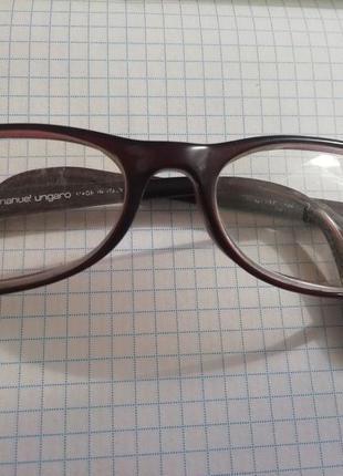 Очки для зрения emanuel ungaro, оправа для очков