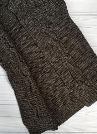Кардиган,жилетка объемной вязки и per una ''косы''