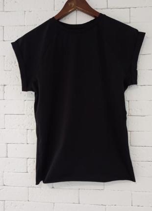 Oodji футболка черная