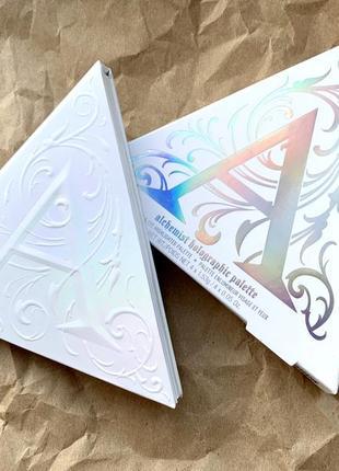 Палетка для глаз и лица alchemist holographic palette , kvd vegan beauty (kat von d)