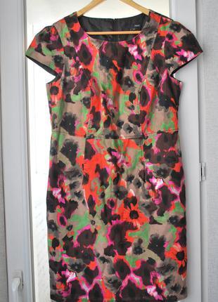 Платье next лен