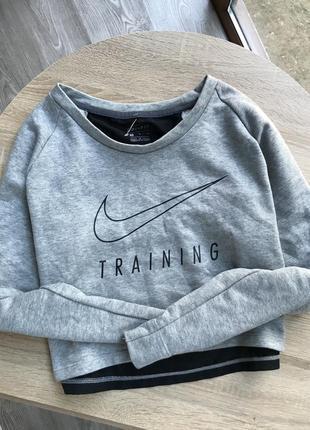 Укороченый свитшот nike training
