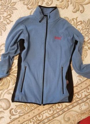 Флисовая олимпийка мастерка курточка