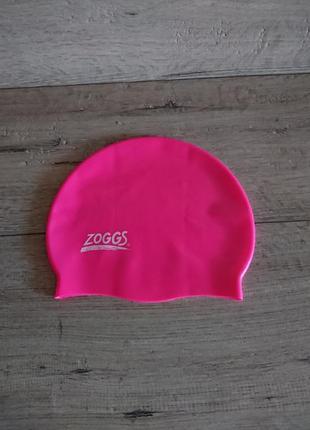Шапочка для плавания zoggs детская