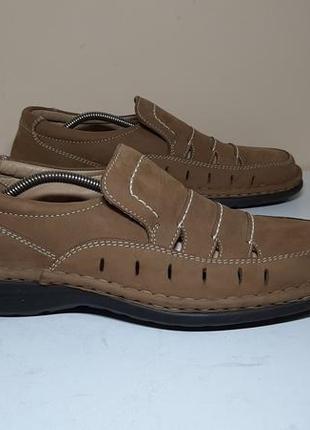 Кожаные ботинки,туфли gallus (галлус)