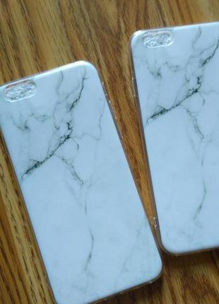 Мраморный чехол iphone 6 6s