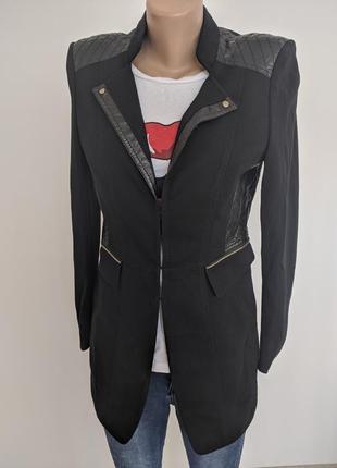 🔥🔥🔥 блейзер пиджак длинны черный gerry weber