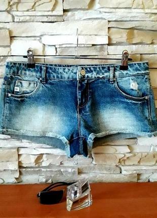 Шорты джинсовые pull&bear xs