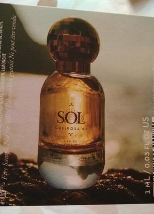 Пробник парфюма аромата sol cheirosa '62 eau de parfum