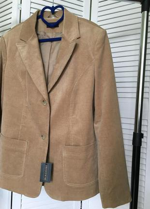 Розпродаж!!! шикарный оригинальный пиджак жакет biaggini кемел
