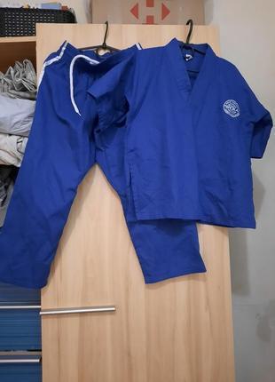 Кимано синее для карате