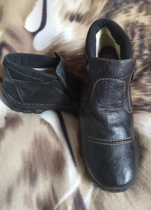 Стильні чоловічі черевики утеплені rieker