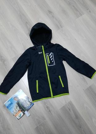 Куртка crivit с системой techtex softshell 110/116 и 122/128 см