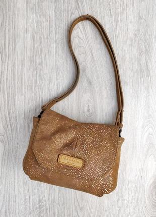 Liebeskind berlin кожаная сумка кросс боди / на плечо 100% натуральная кожа