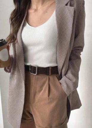 Стильный пиджак осень-зима