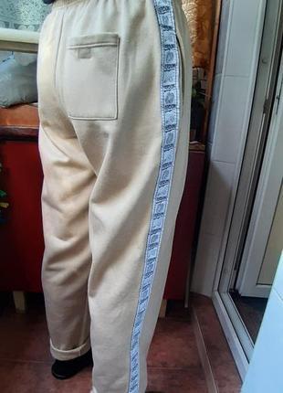 Мягкие уютные штаны на флисе  высокий рост