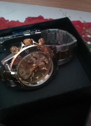 Годинник чоловічий rolex + коробка (часы мужские)