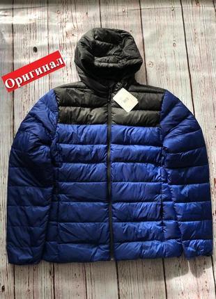 Оригинал куртка пуховик мужская reebok cg1411 зимняя