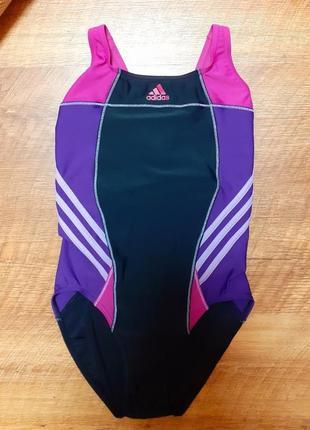 Спортивный цельный купальник adidas
