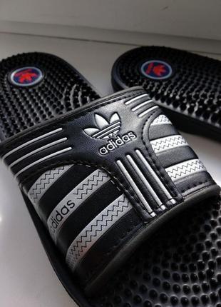 Шльопки чоловічі adidas 43 (шлепанцы мужские массажные) 29 см