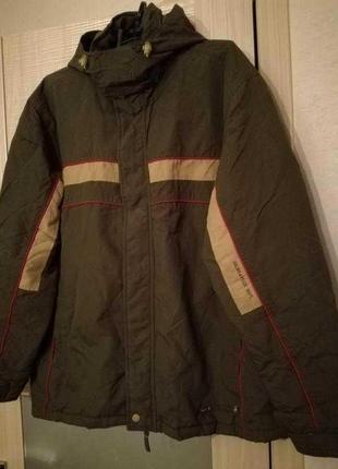Куртка ветровка демисизонная цвета хаки от colin's