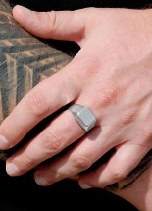 Серебряный перстень, печатка, кольцо, 925