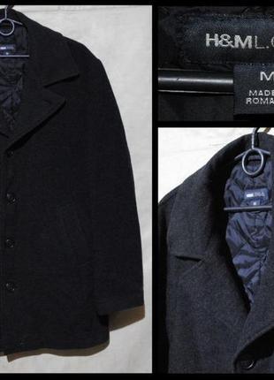 Пальто чоловіче h&m l.o.g.g. m-xl [швеція] (мужское)