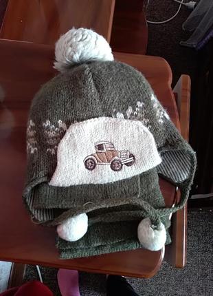 Набір шапочка +шарф
