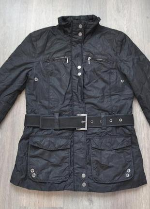 Деми куртка на синтепоне ф. tom tailor р. с-м в отличном состоянии