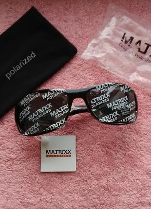 Окуляри чоловічі matrixx polarized cat.3 + чохол (очки мужские)