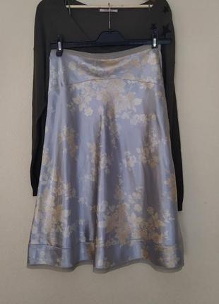 Атласная всеми любимая юбка
