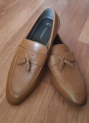 Туфли 44р, лоферы