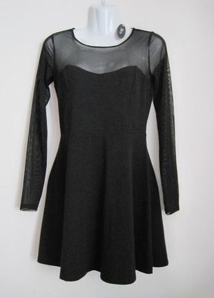 Маленькое черное платье коттон forever 21 новое m