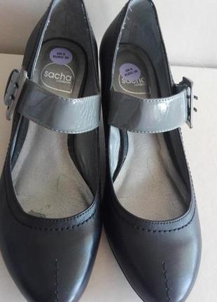 Туфли кожа sasha london