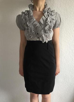 Поделиться:  красиве плаття) для ділового образу) розмір м)