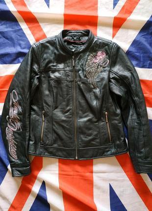 Harley davidson кожаная куртка