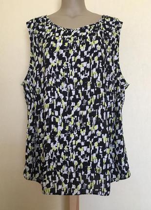 Доступно - летняя блуза *f&f* 26 р.