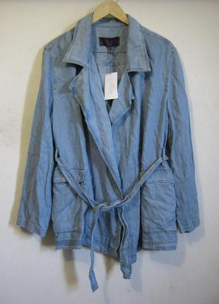 Mango летняя куртка новая л-хл