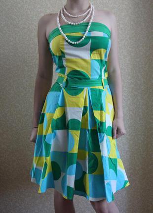 Платье, красивый сарафан с открытыми плечами