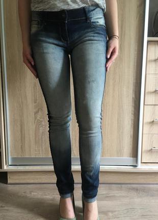 Новые джинсы ovs омбре mango pinko с градиентом слим скини