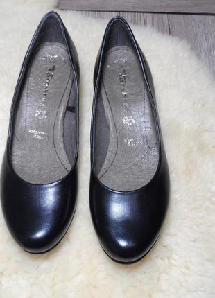 Кожаные туфли германского бренда tamaris! 36 р.