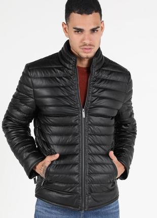 Куртка colin's xl экокожа slim fit