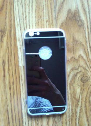Зеркальный чехол iphone 6 6s