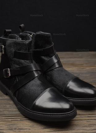 Мужские ботинки geox respira u640se-43902 оригинал р-46