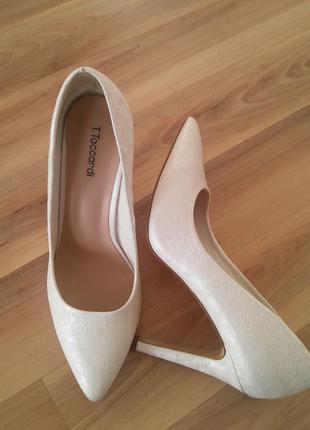 Туфли лодочки для невесты