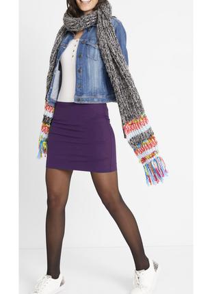 Базовая трикотажная мини юбка bonprix, l-xl