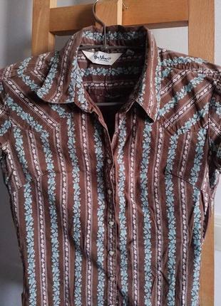 Качественная рубашка xs